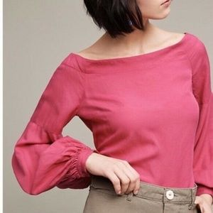 Floreat Mazza Off The Shoulder Bell Sleeve Blouse
